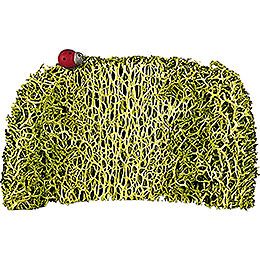 Hedge with Lady Bug, 3 Stück  -  4,5cm / 2 inch