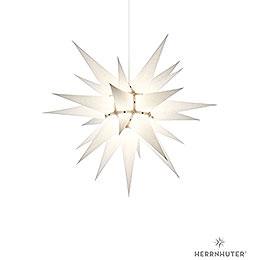 Herrnhuter Moravian Star I6 White Paper  -  60cm / 23.6 inch
