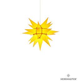 Herrnhuter Moravian star I4 yellow paper  -  40cm