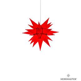 Herrnhuter Stern I4 rot Papier  -  40cm