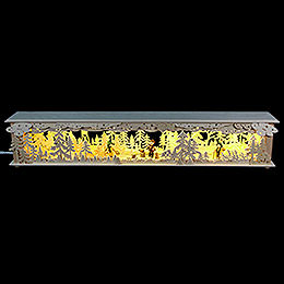 Illuminated Stand Forest with Raised Stand for Candle Arches  -  80x15x12cm / 31x6x5 inch