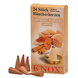 Incense cones  -  Almond