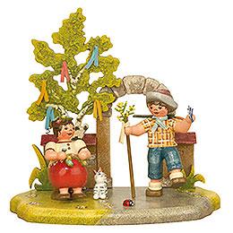 Jahreszeit  -  Frühling  -  13x12cm