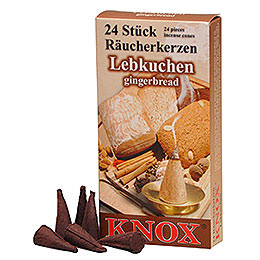 Knox Incense Cones  -  Ginger Bread