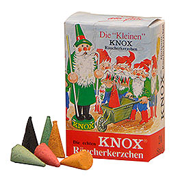 Knox Incense Cones MINI  -  24 pieces  -  mix of fragrances