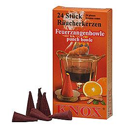 Knox Räucherkerzen  -  Feuerzangenbowle