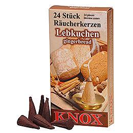 Knox Räucherkerzen  -  Lebkuchen