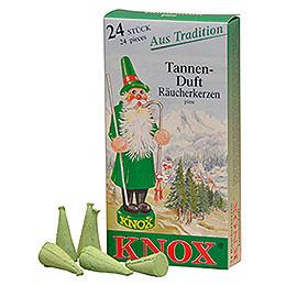 Knox Räucherkerzen  -  Tannenduft