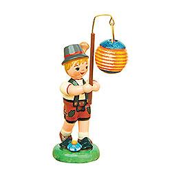 Lampion Child Boy with Ball Lantern   -  8cm / 3 inch