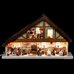 Light House Needlework Workshop  -  60x38cm / 23.5x15 inch