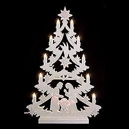 Light Triangle  -  Christmas Tree  -  60x40x5,5cm / 23,6x15,6x2 inch