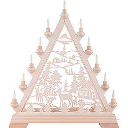 Light triangle forest hut  -  56cm / 22inch