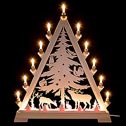 Light triangle pointed tree  -  66cm / 26inch