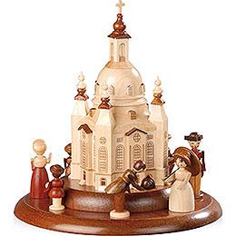 Motivplattform f�r elektr. Spieldose  -  Historische Figuren an der Frauenkirche  -  15cm