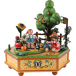Music Box Our Little Garden  -  20cm / 8 inch