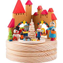 Music box Christmas market  -  11,5cm / 4.5inch
