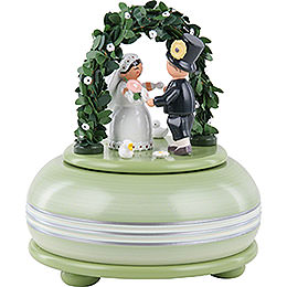 Music box wedding  -  15cm / 5.9inch