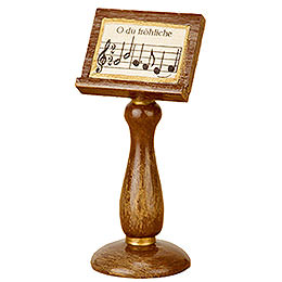 Music stand 4cm / 1,5inch