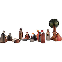 Nativity Set of 15 Pieces