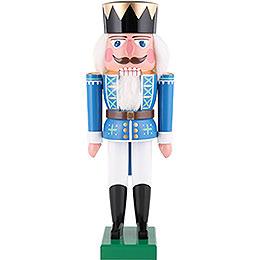 Nussknacker König blau  -  36cm