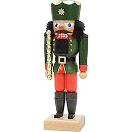 Nussknacker König grün  -  26cm