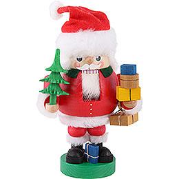 Nussknacker Santa mit Paketen  -  19cm