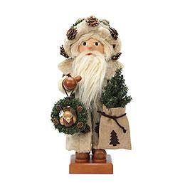 Nussknacker Weihnachtsmann rustikal  -  46,5cm  -  Limitierter Nussknacker