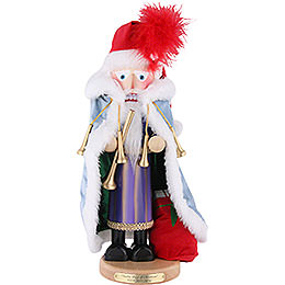 Nutcracker Eleven Pipers Piping, limited edition  -  46cm / 18.1inch