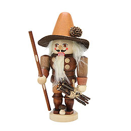 Nutcracker Forest Man natural colors  -  17,0cm / 7 inches