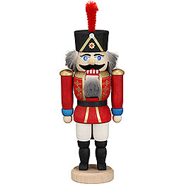 Nutcracker Hussar red  -  15cm / 5.9inch