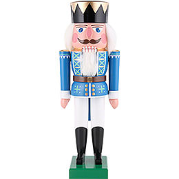 Nutcracker King blue  -  36cm / 14 inch