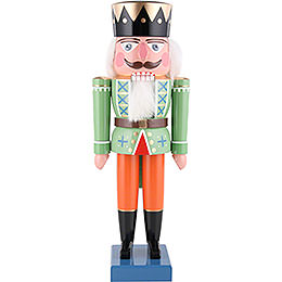 Nutcracker King green   -  35cm / 13.8inch