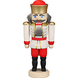 Nutcracker king white  -  12cm / 4.7inch