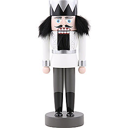 Nutcracker  -  king white  -  25cm / 9.8inch