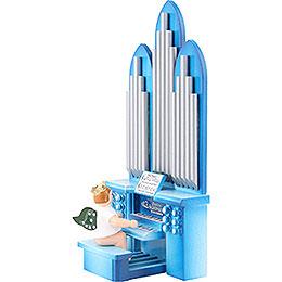 Orgel mit Engel mit Krone  -  6,5cm