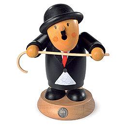 Räuchermännchen Charlie Chaplin  -  16cm
