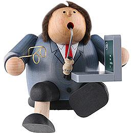 Räuchermännchen Computerexperte  -  15cm