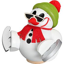 R�ucherm�nnchen Cool - Man mit Schlittschuh  -  12cm