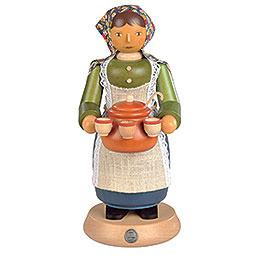 R�ucherm�nnchen Gl�hweinverk�uferin  -  25cm