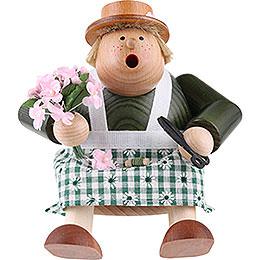 Räuchermännchen Kantenhocker Floristin  -  16cm