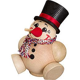 Räuchermännchen Kugelräucherfigur Cool Man mit Schal  -  12cm