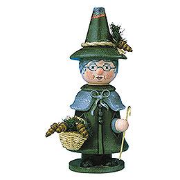 Räuchermännchen Miniatur Wichtel Großmutter  -  14cm