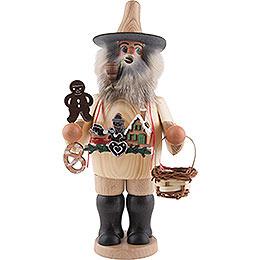 Räuchermännchen Pfefferkuchenhändler  -  20,5cm