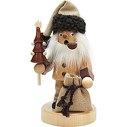 Räuchermännchen Weihnachtsmann natur  -  20,0cm