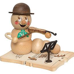 Räucherwurm Geigenspieler Rudi  -  14cm