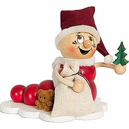 Räucherwurm Weihnachts Rudi  -  ca. 14cm