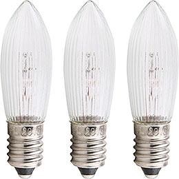 Rippled Bulb  -  E10 Socket  -  16V/3W