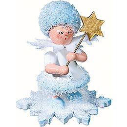 Schneefl�ckchen mit Stern  -  5cm