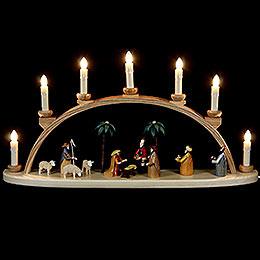Schwibbogen  -  Christi Geburt  -  60cm