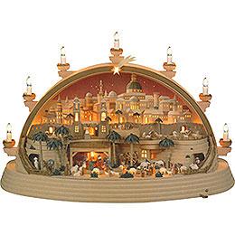 Schwibbogen Christi Geburt (limitierte Ausgabe)  -  74x28x58cm